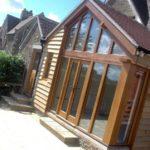 Oak Garden Room Front
