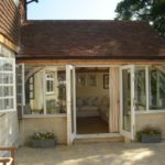 Summerhouse with Oak Windows